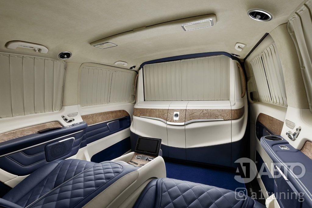 Cалон Mercedes Benz Viano VIP. Фото 5, A1 Auto