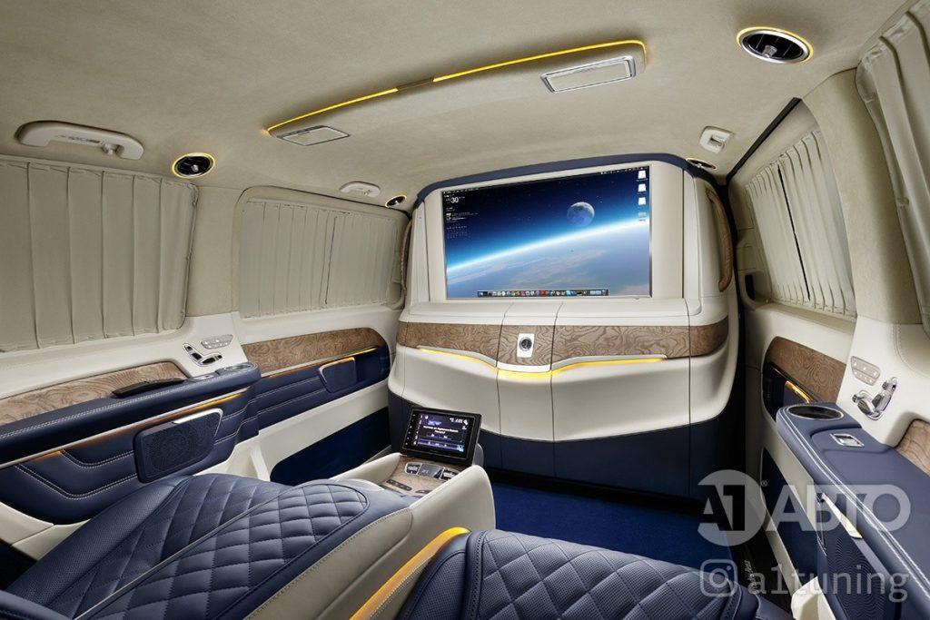 Cалон Mercedes Benz Viano VIP. Фото 1, А1 Авто.