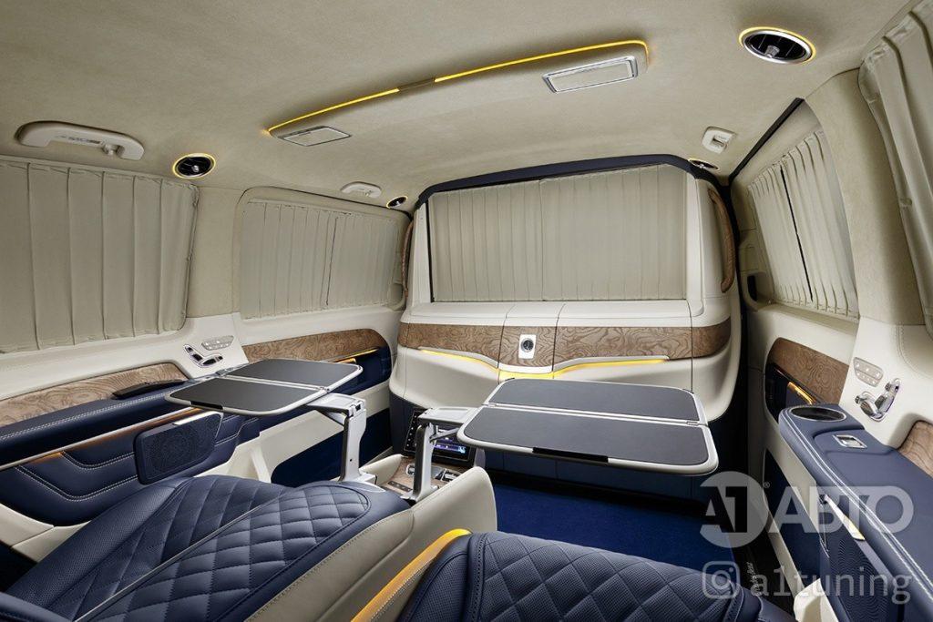 Тюнинг салона Mercedes Benz Viano VIP. Фото 5, А1 Авто