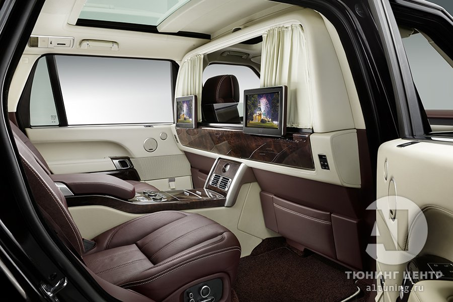 Тюнинг Range Rover — Перегородка между водителем и пассажиром