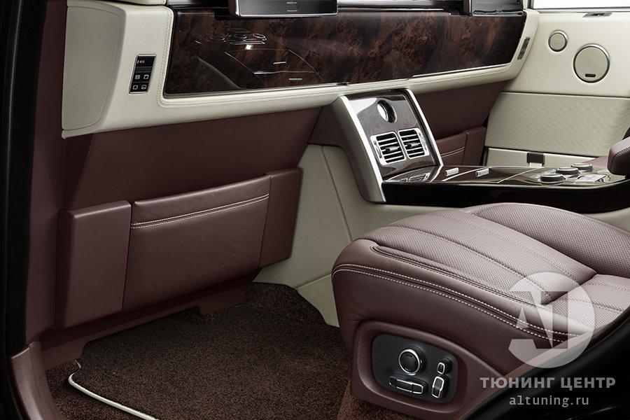 Фото кожаного салона  Range Rover, А1 Авто