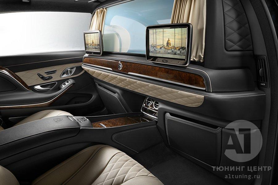 Межсалонная перегородка в Mercedes-Benz Maybach. А1 Авто