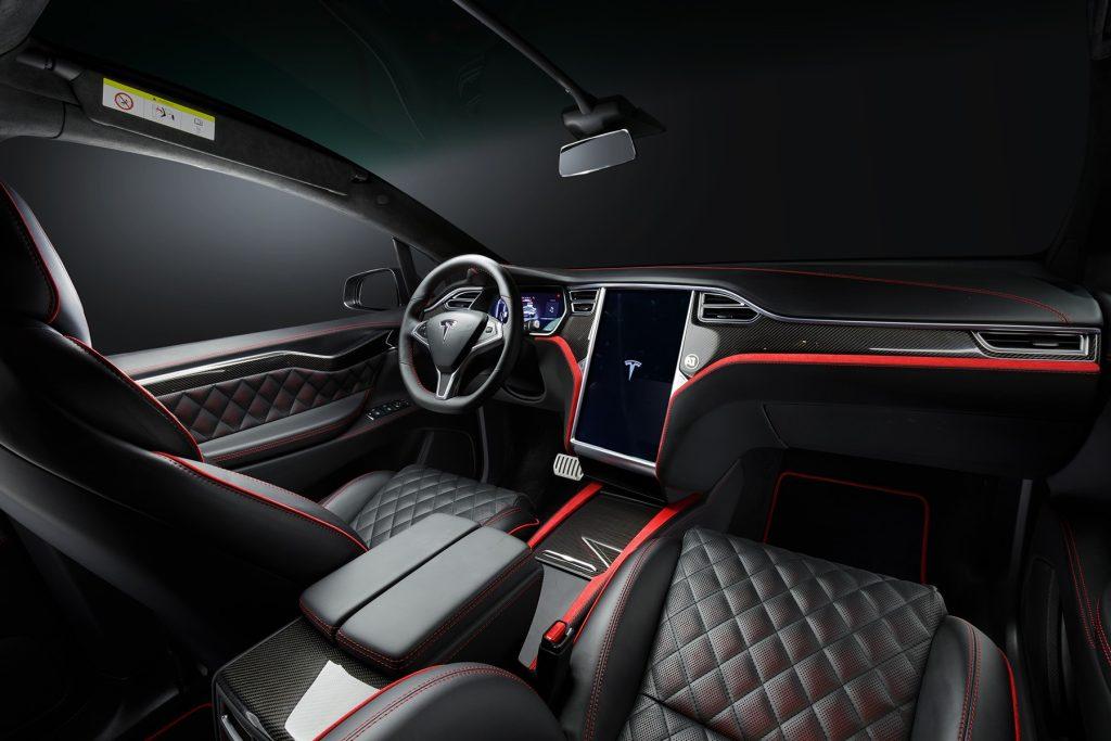 Тюнинг салона Tesla Model X. Фото 1, А1 Авто