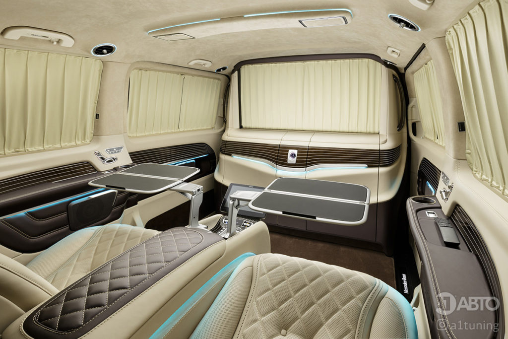 Фото кожаного салона Mercedes-Benz V-VIP. А1 Авто