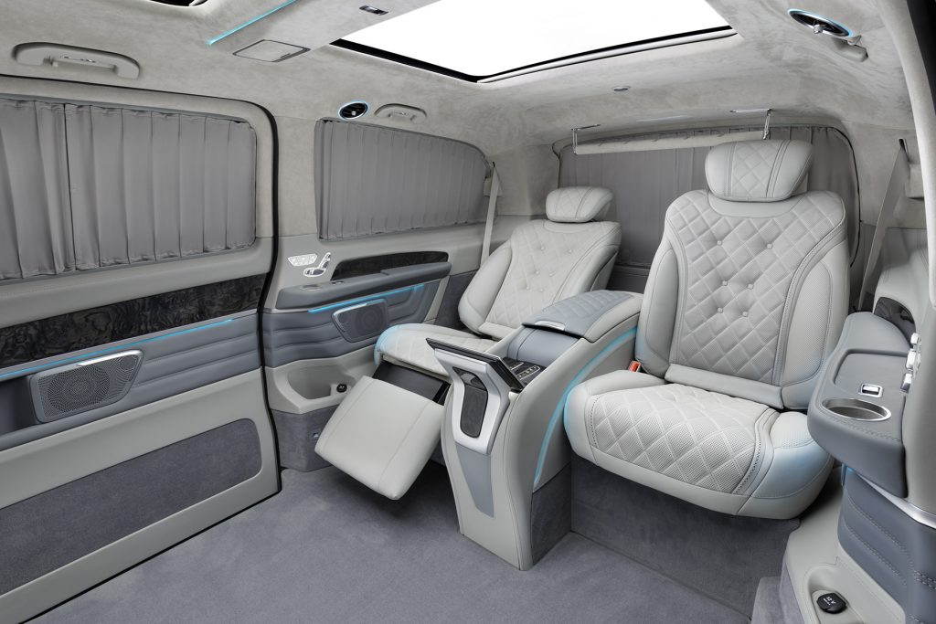 Тюнинг салона Mercedes-Benz V-Business Jet фото 1, А1 Авто