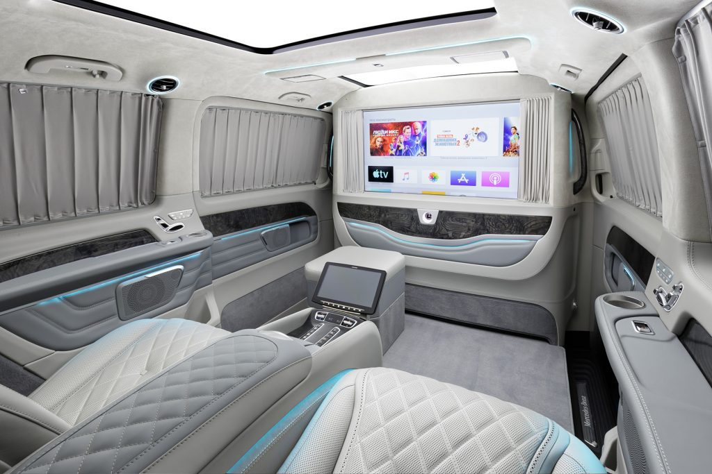 Тюнинг салона Mercedes-Benz V-Business Jet фото 5, А1 Авто