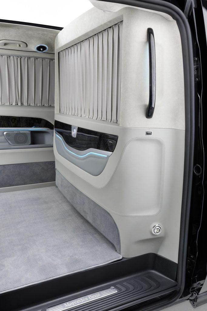 Тюнинг салона Mercedes-Benz V-Business Jet фото 4, A1 Auto