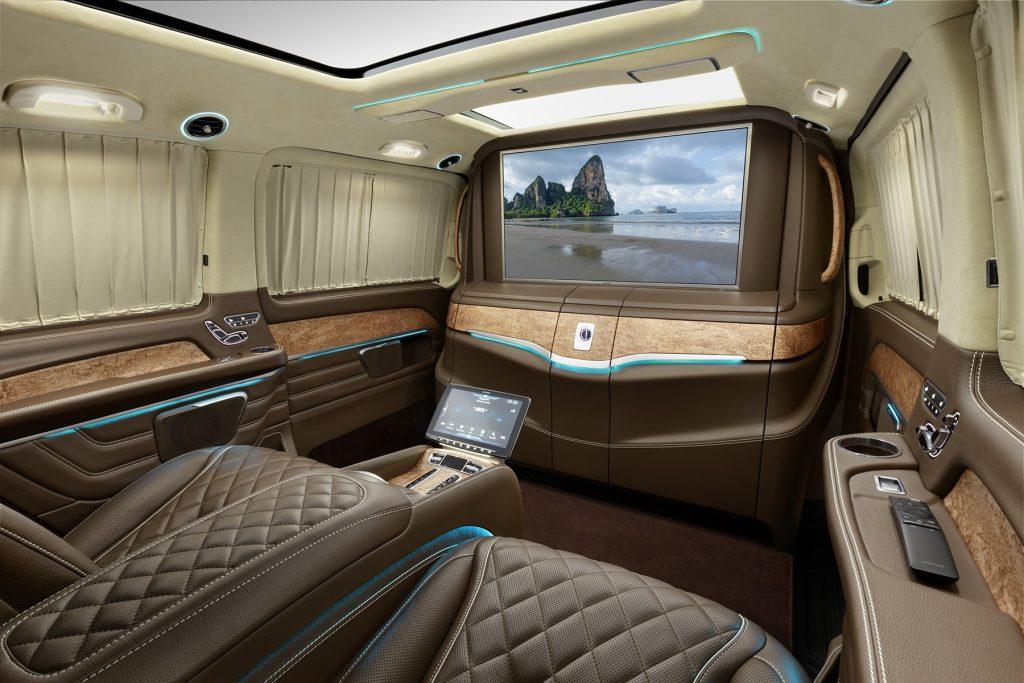 Cалон Mercedes Benz V-VIP. Фото 2, А1 Авто.