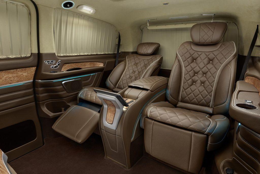 Тюнинг салона Mercedes Benz V-VIP. Фото 4, А1 Авто