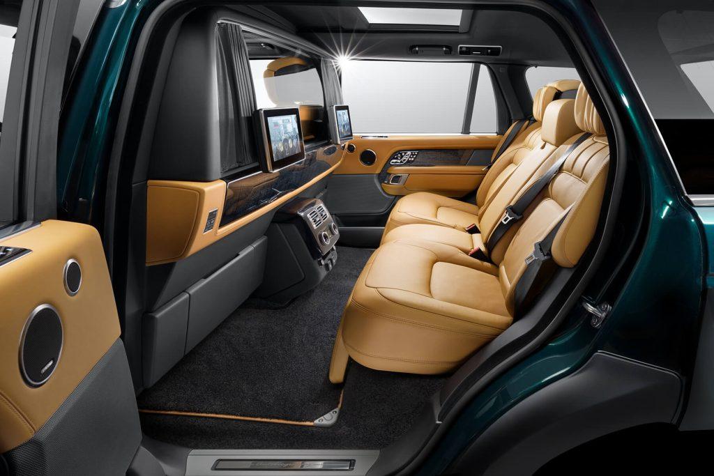 Range Rover Autobiography салон фото