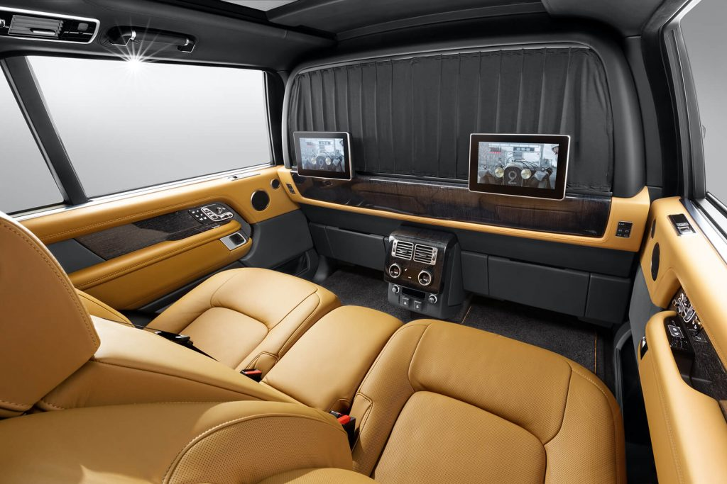 Range Rover Autobiography салон фото. А1 Авто