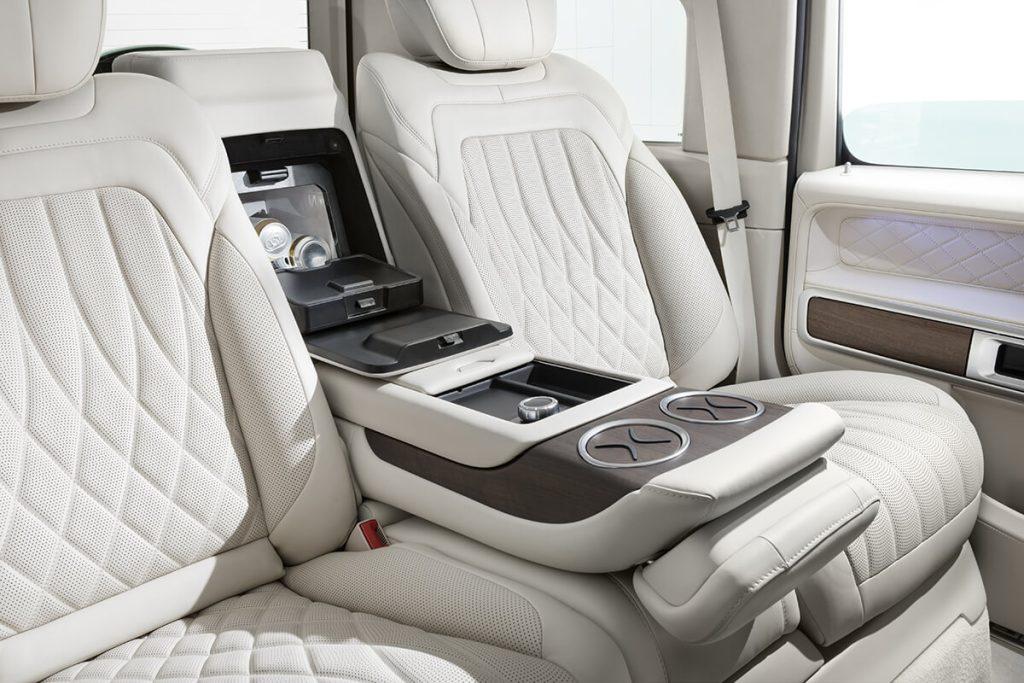 Mercedes-Benz G-class тюнинг салона. А1 Авто
