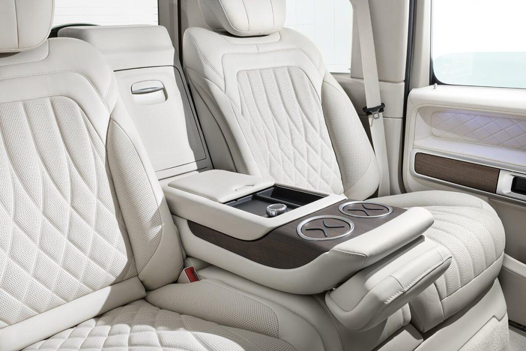 Тюнинг салона автомобиля Mercedes-Benz G-class