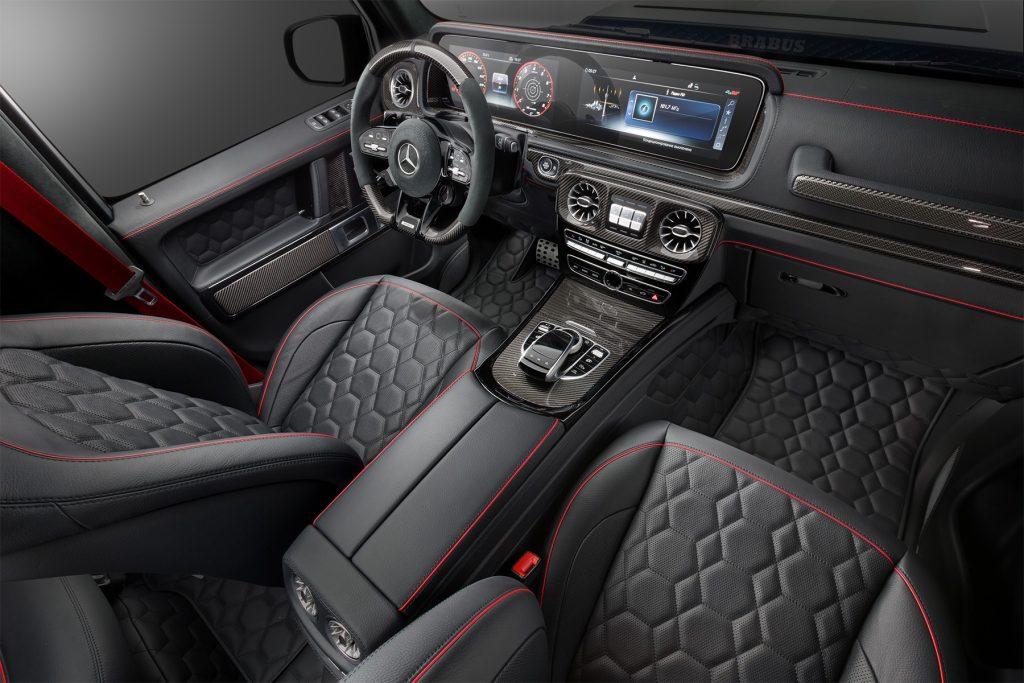 Тюнинг салона Mercedes-Benz G 63 BRABUS. Фото 5
