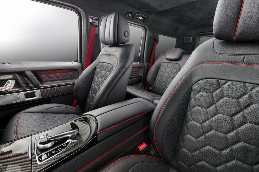 Салон Mercedes-Benz G 63 BRABUS. А1 ТЮНИНГ