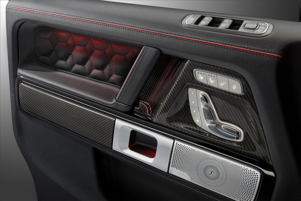 Тюнинг салона Mercedes-Benz G 63 BRABUS