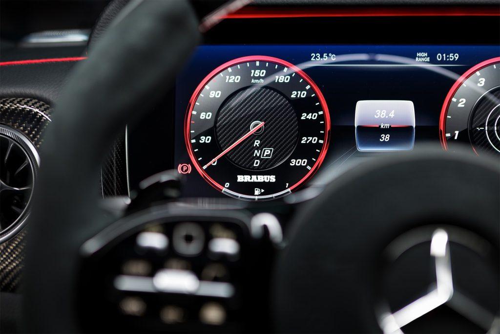 Тюнинг салона Mercedes-Benz G 63 BRABUS. Фото 1