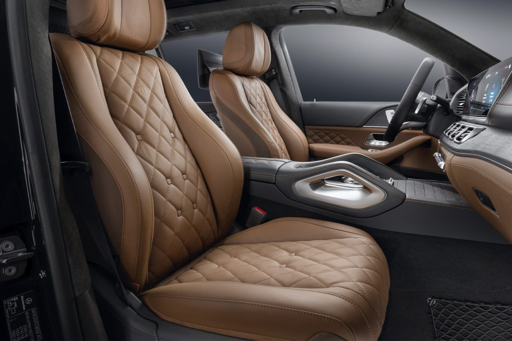 Салон Mercedes-Benz GLS Maybach. А1 Тюнинг