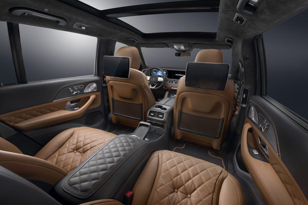 Тюнинг салона Mercedes-Benz GLS Maybach в Москве. Фото 1