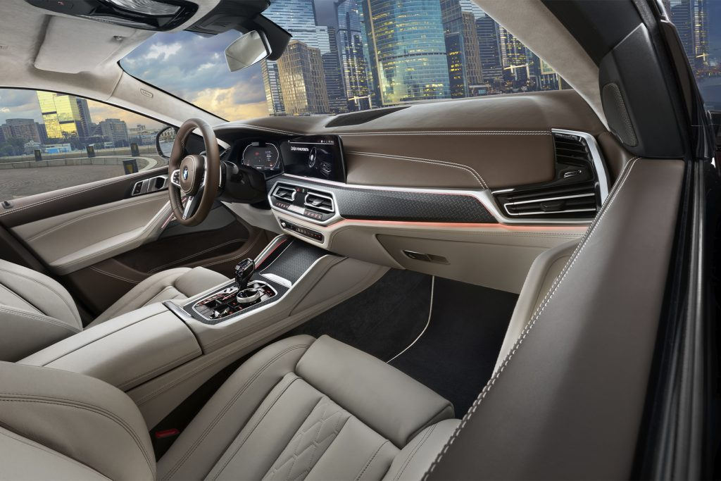 Тюнинг салона BMW X6 в Москве, фото 3. А1 Тюнинг