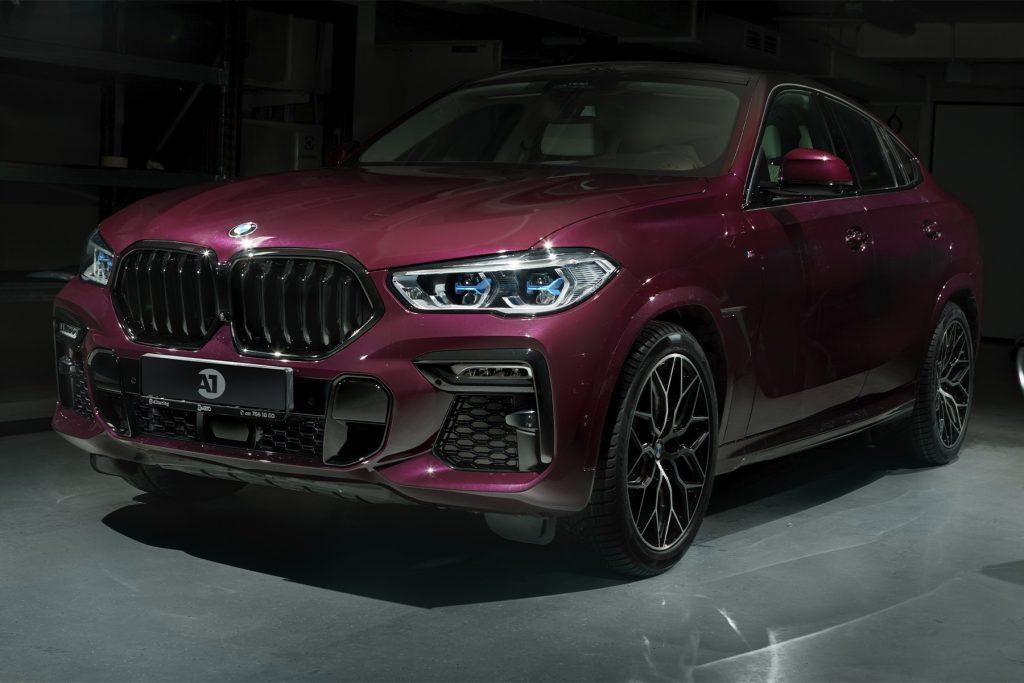Тюнинг BMW X6 в Москве. А1 Тюнинг